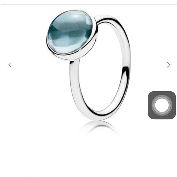 5f73c0d0b Pandora Jewelry | Nwt Poetic Droplet Ring Sz 512 Beautiful | Poshmark